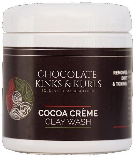 Chocolate Kinks & Kurls Clay Wash. One way to cleanse natural hair. | NaturallyMadisen.com