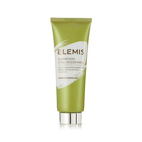 One face mask for dry, sensitive skin is the Elemis Superfood Veggie Mask.