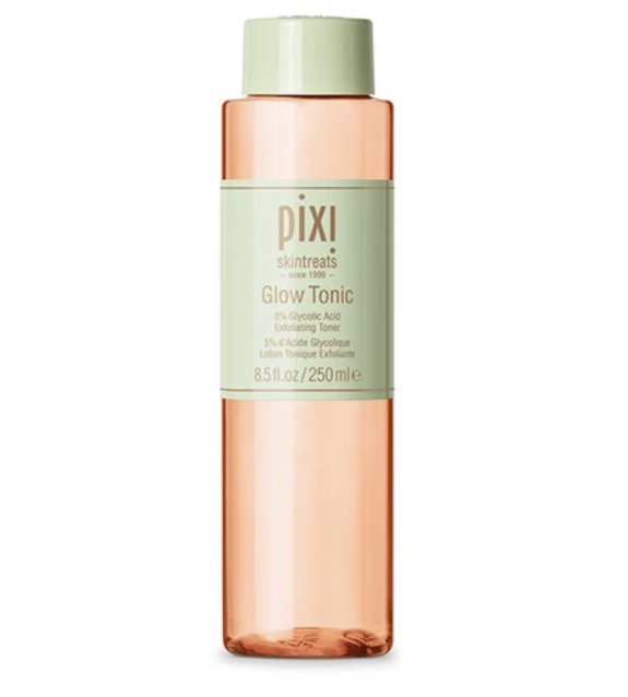 One of the best toners for sensitive skin is the Glow Tonic from Pixi Beauty.