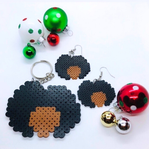 Another Brown Creation is a black-owned apparel and lifestyle brand that creates handmade earrings and keychains.