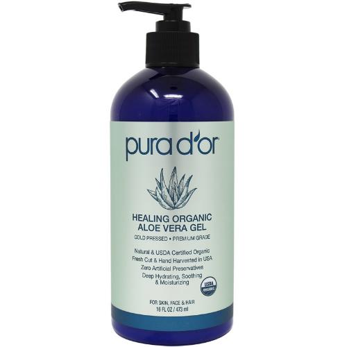 Pura D'or Healing Organic Aloe Vera Gel - Best skincare gifts for women
