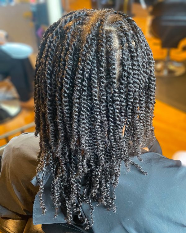 Starter loc styles on natural hair