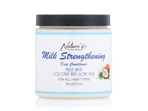 Nature's Little Secret Milk Strengthening Deep Conditioner