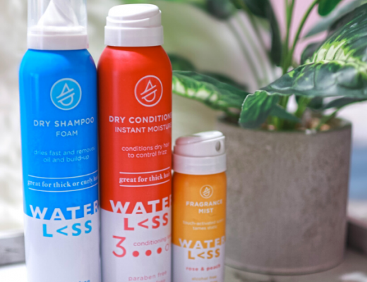 Waterless Hair Care product range